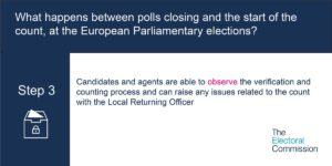 The Electoral commission EU votes step 3